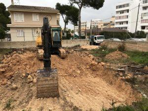 Excavación parcela
