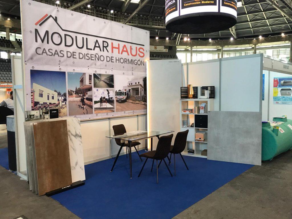 Expo h bitat fira de la llar palma arena - Construccion modular hormigon ...