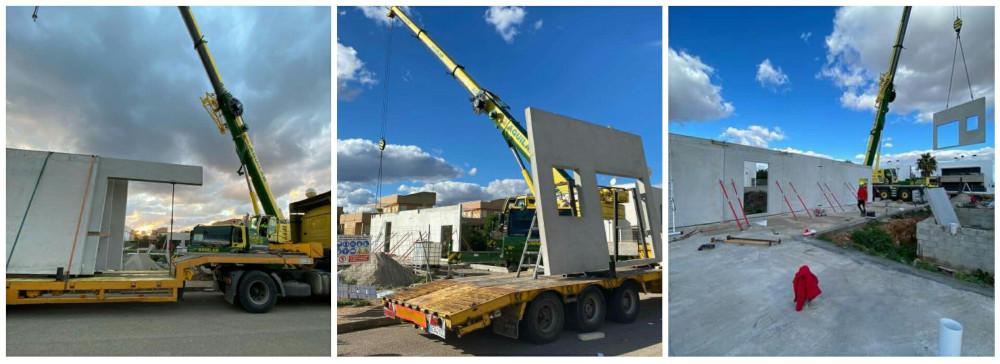 Construcción casas modulares de hormigón